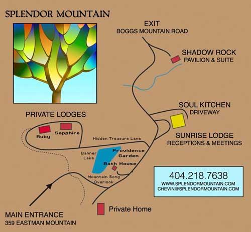 Directions to splendor mountain